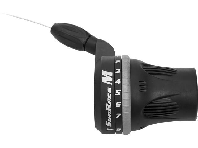 SunRace TSM63 Gearhåndtag Twist Shifter 8-speed højre sort (2019) | Gear levers